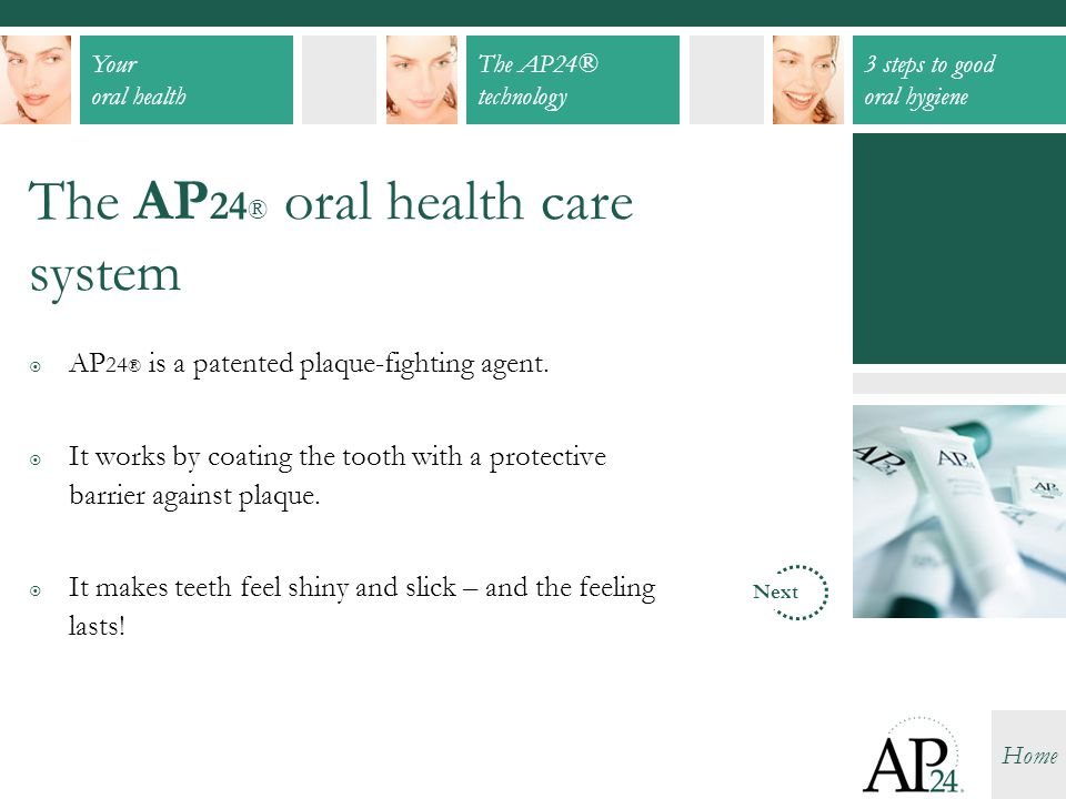 The AP24® oral health care system