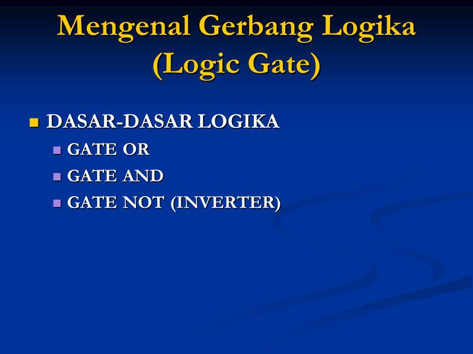 Mengenal Gerbang Logika (Logic Gate)