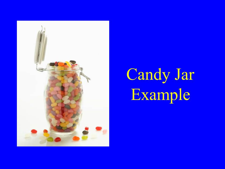 Candy Jar Example