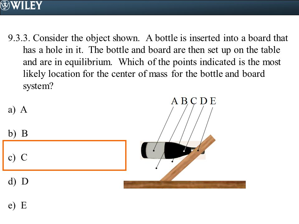 9. 3. 3. Consider the object shown