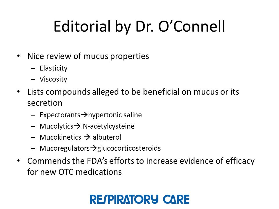 Editorial by Dr. O'Connell