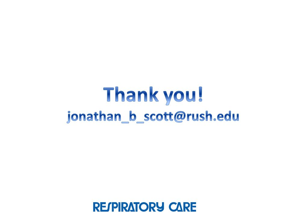 Thank you! jonathan_b_scott@rush.edu