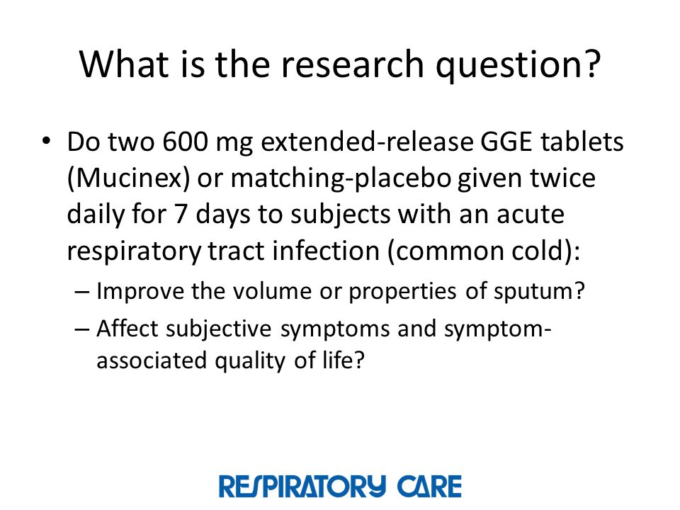 What is the research question