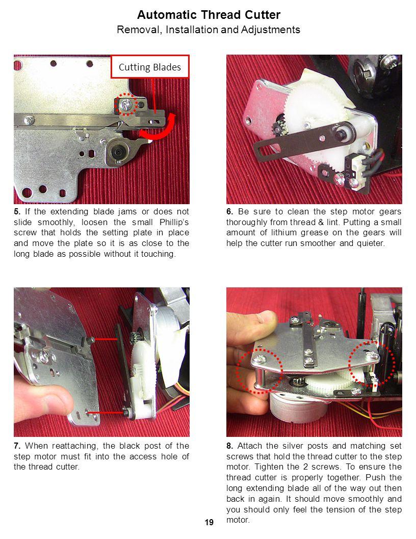 Automatic Thread Cutter