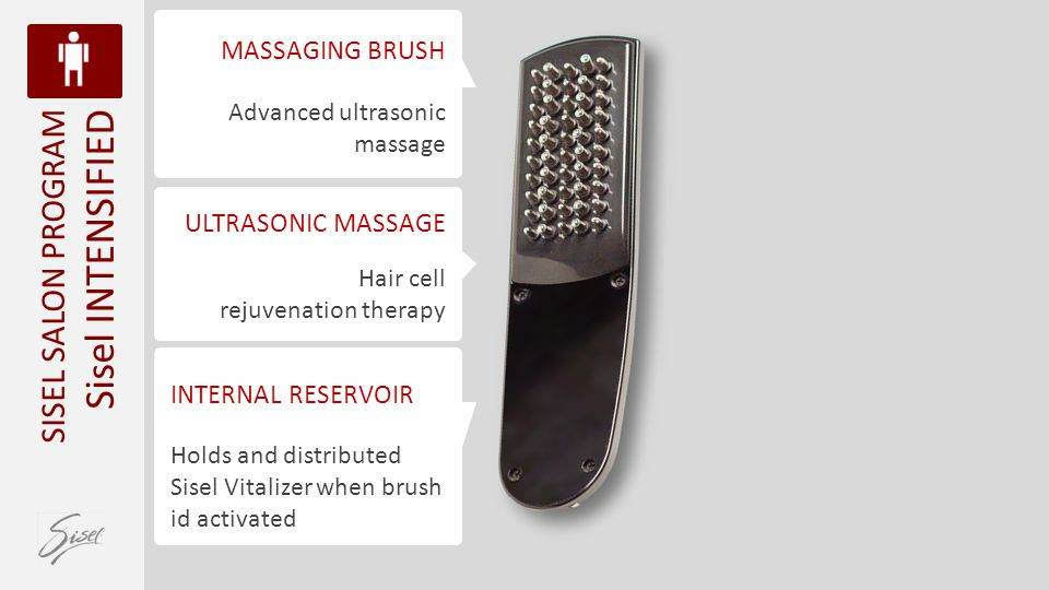 Sisel INTENSIFIED SISEL SALON PROGRAM MASSAGING BRUSH