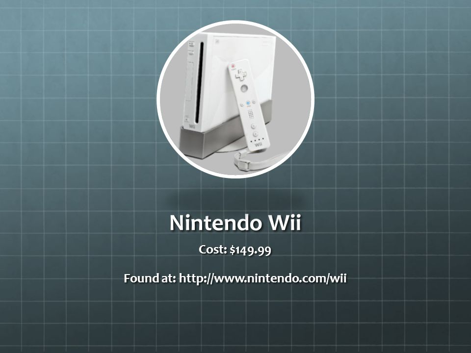 Found at: http://www.nintendo.com/wii