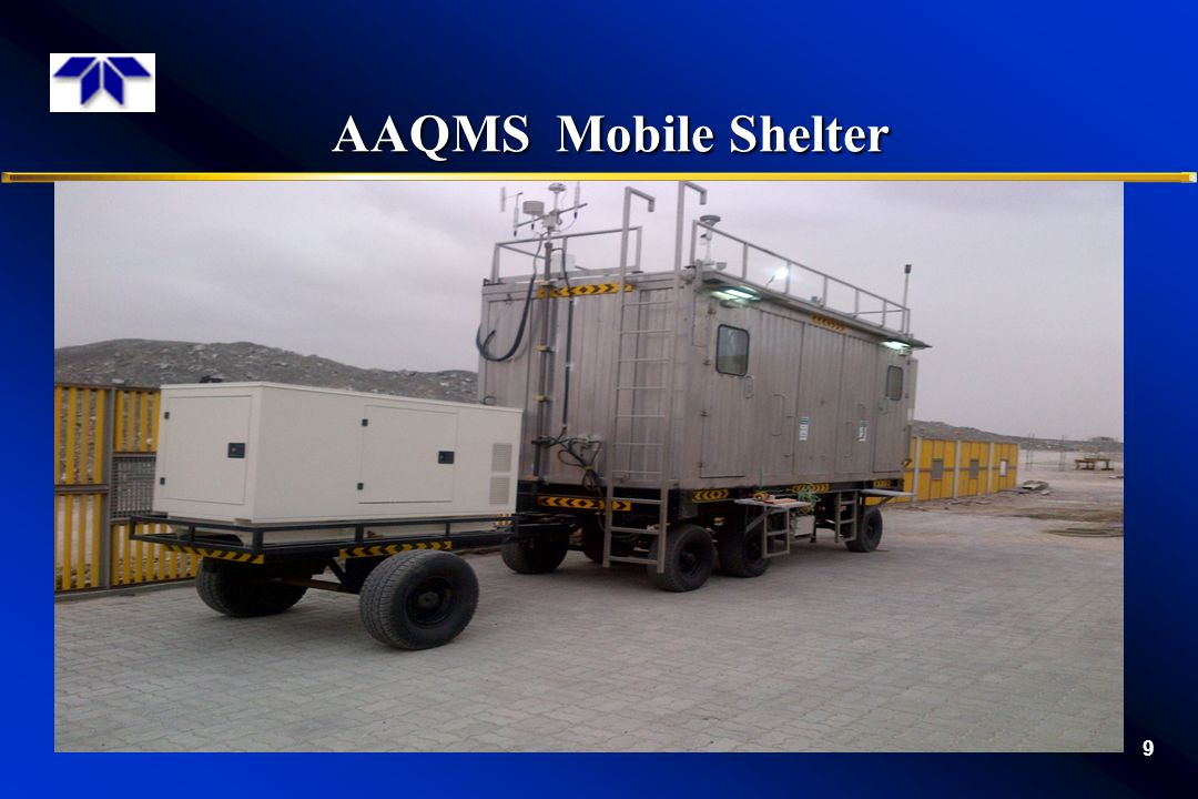 AAQMS Mobile Shelter
