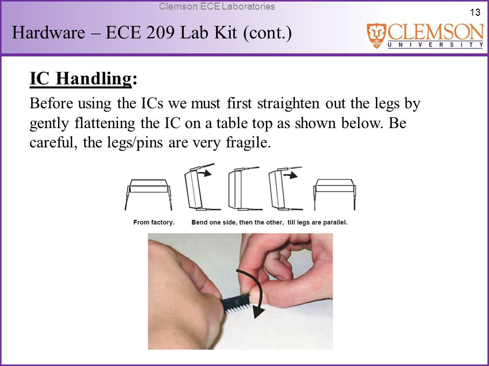 Hardware – ECE 209 Lab Kit (cont.)