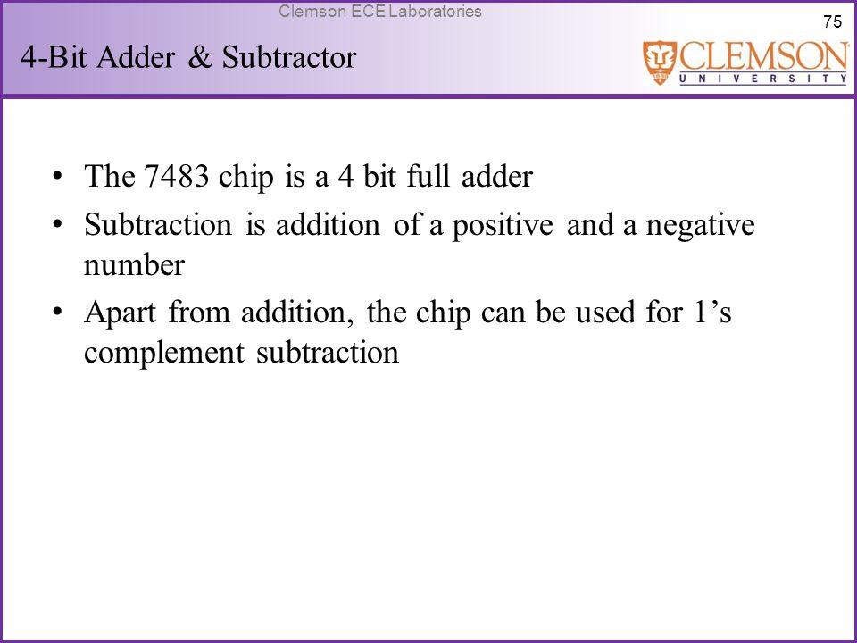 4-Bit Adder & Subtractor