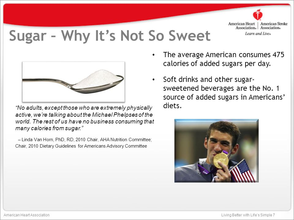 Sugar – Why It's Not So Sweet