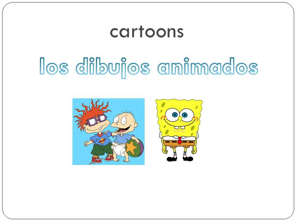 cartoons los dibujos animados