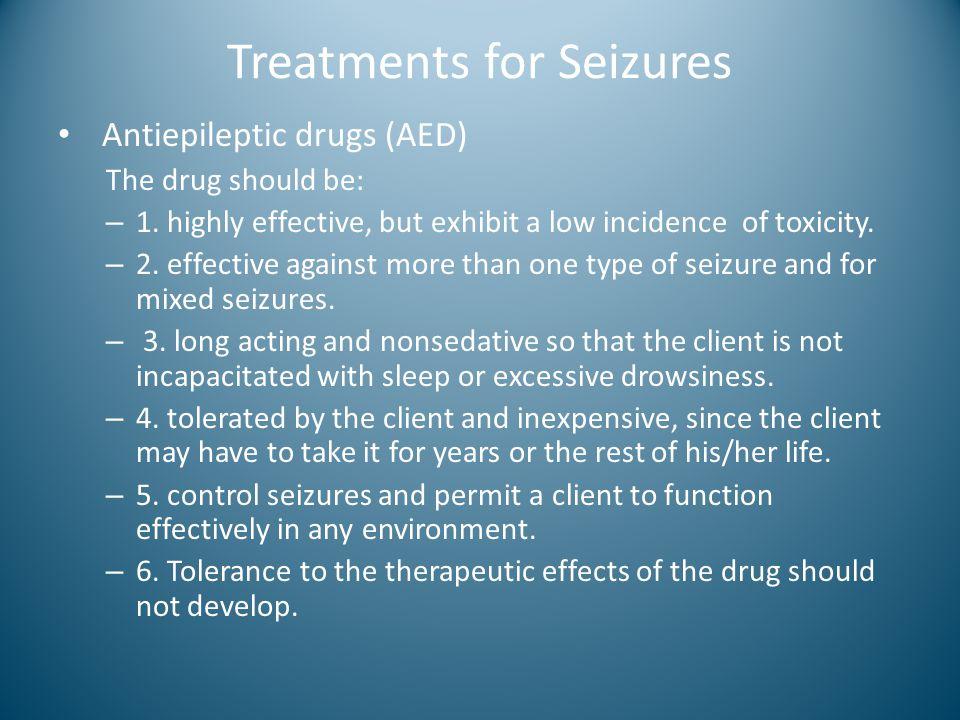 Treatments for Seizures