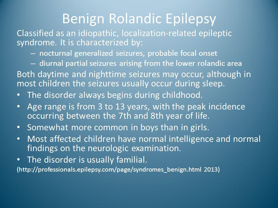 Benign Rolandic Epilepsy