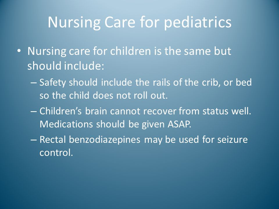 Nursing Care for pediatrics