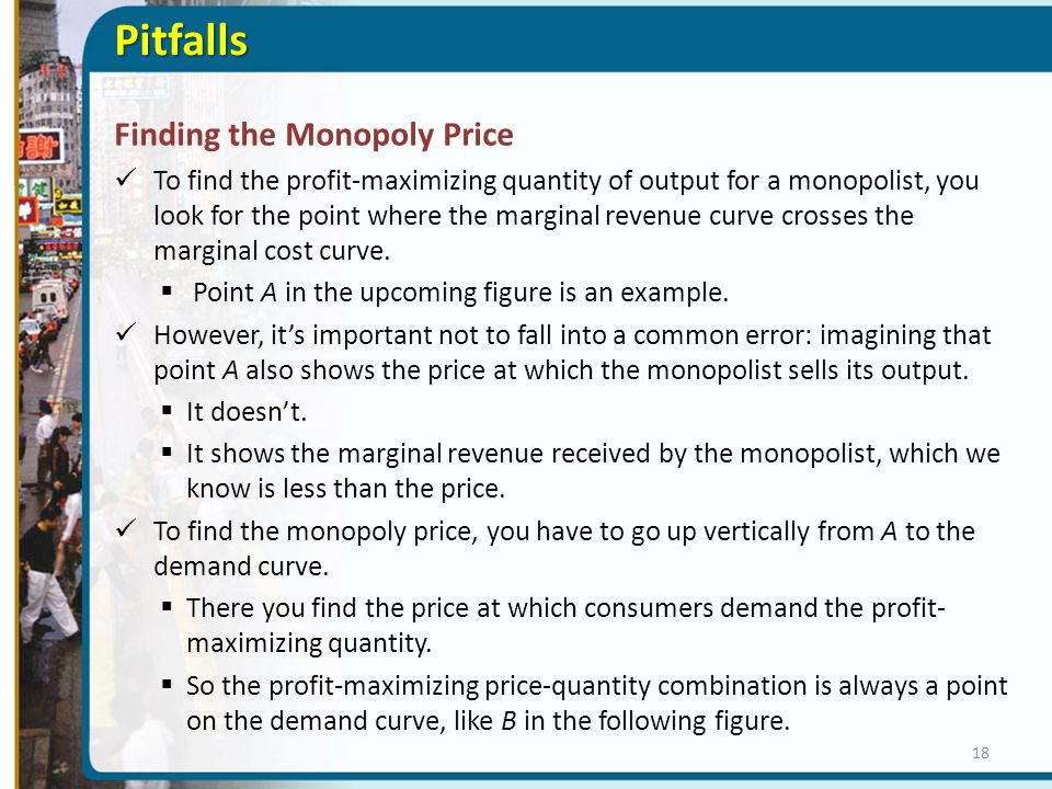 Pitfalls Finding the Monopoly Price