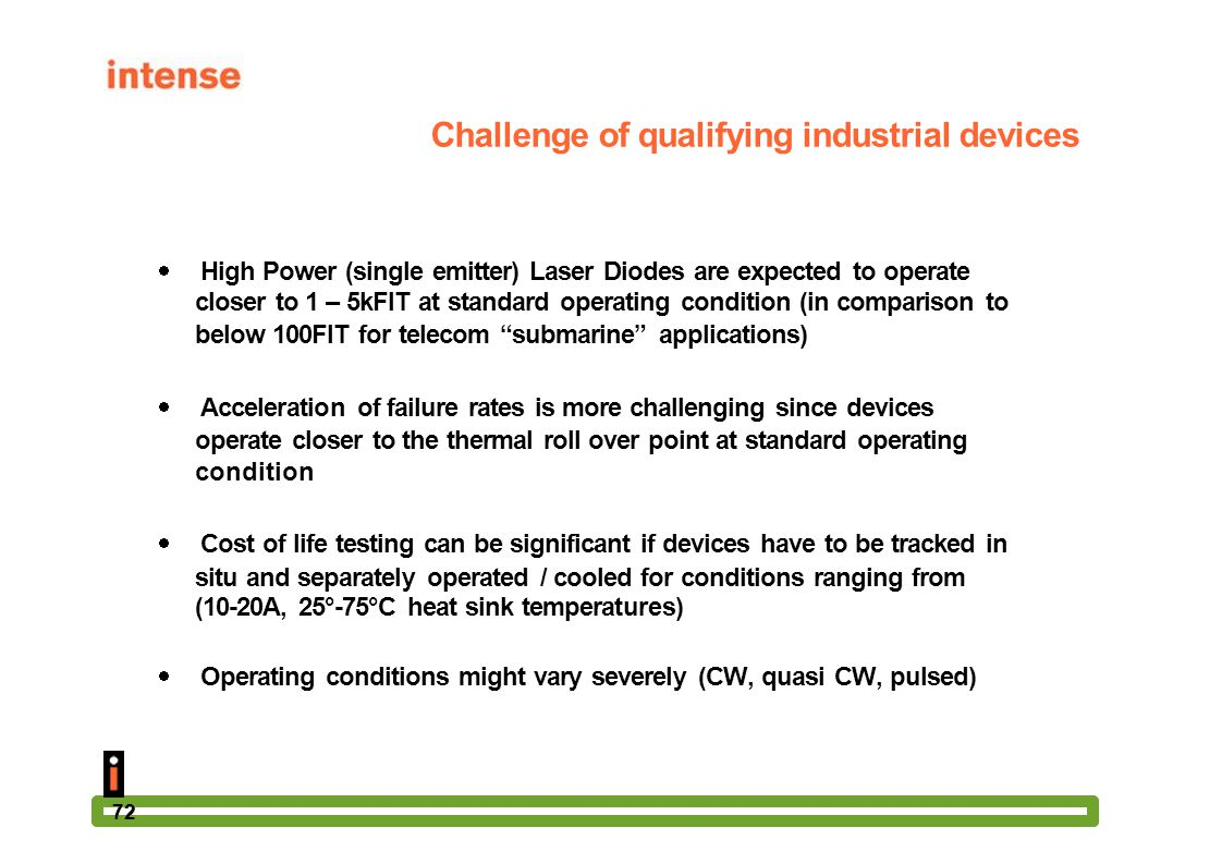 Challenge of qualifying industrial devices