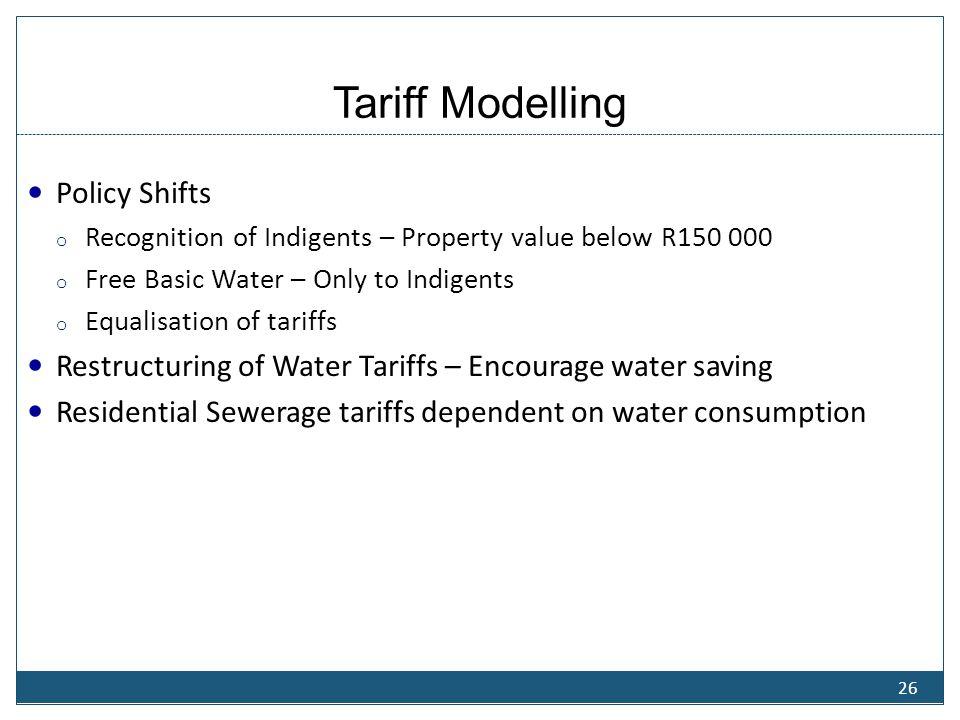 Tariff Modelling- 2012/13 Fin... Year