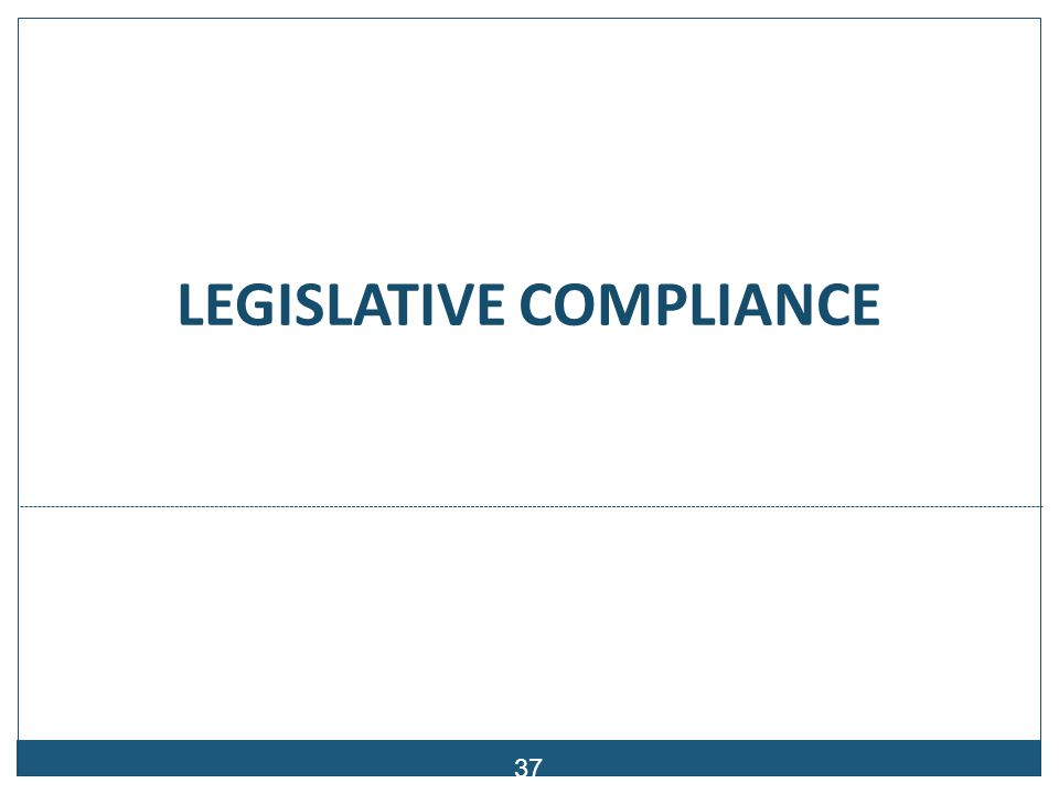 Compliance with Audit Processes & the Law