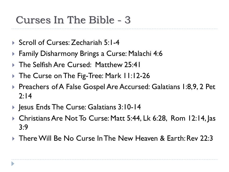 Curses In The Bible - 3 Scroll of Curses: Zechariah 5:1-4