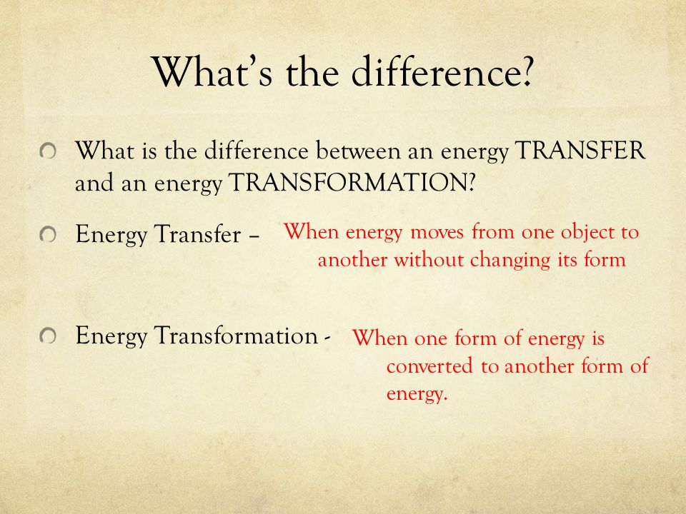 Forms of Energy – Part II - ppt download