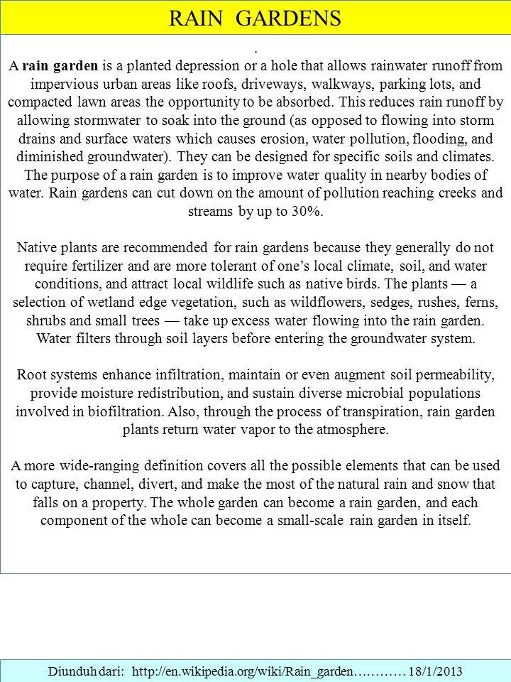 Konservasi dan panen air hujan ppt download for Properties of soil wikipedia