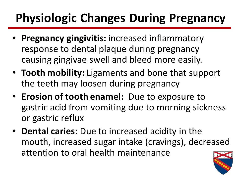 Physiologic Changes During Pregnancy