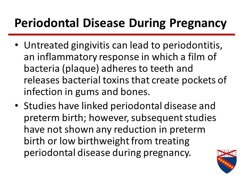 Periodontal Disease During Pregnancy