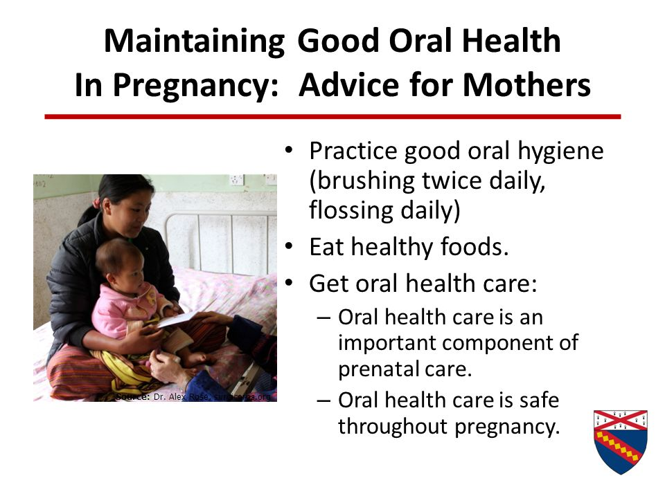 Maintaining Good Oral Health In Pregnancy: Advice for Mothers