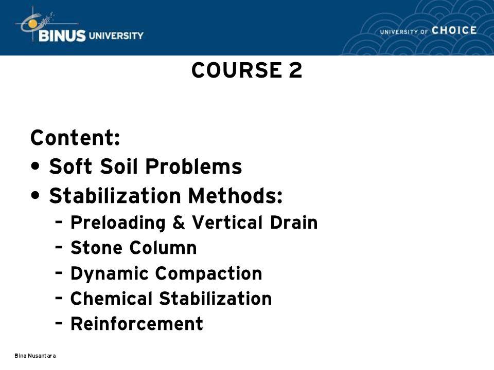 Stabilization Methods: