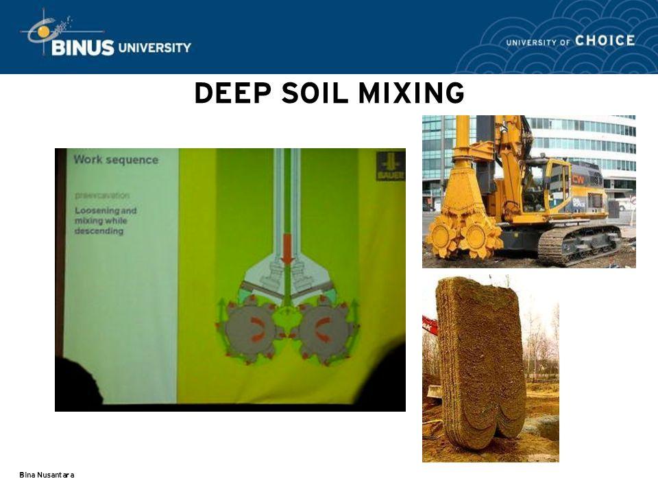 DEEP SOIL MIXING Bina Nusantara
