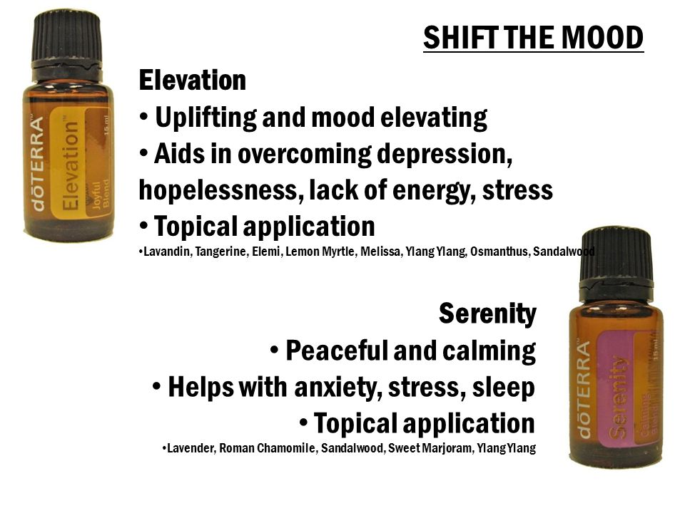 SHIFT THE MOOD Elevation Uplifting and mood elevating