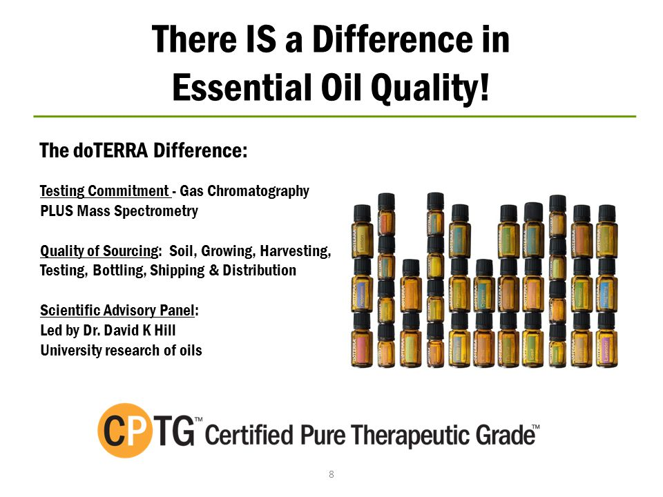 There IS a Difference in Essential Oil Quality!