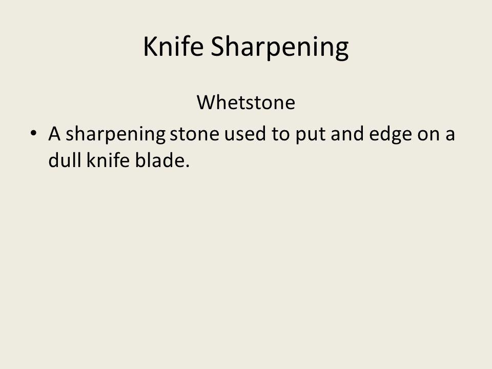 Knife Sharpening Whetstone