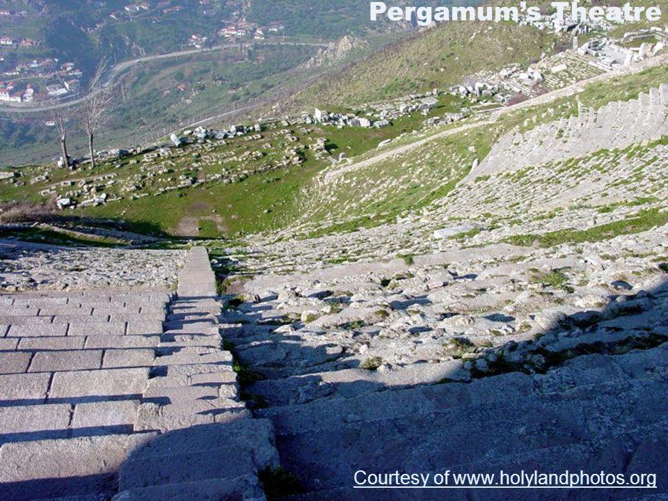 Pegamum's Theatre Pergamum's Theatre