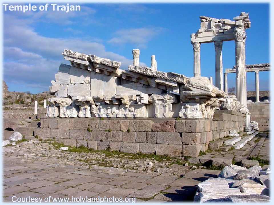 Temple of Trajan Courtesy of www.holylandphotos.org