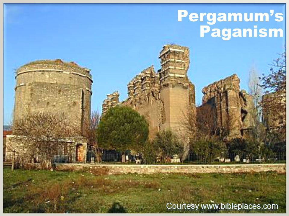 Pergamum's Paganism Courtesy www.bibleplaces.com