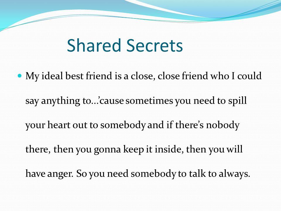Shared Secrets