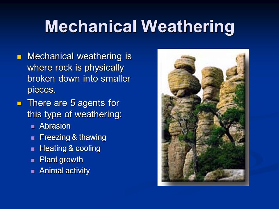 Weathering. - ppt video online download