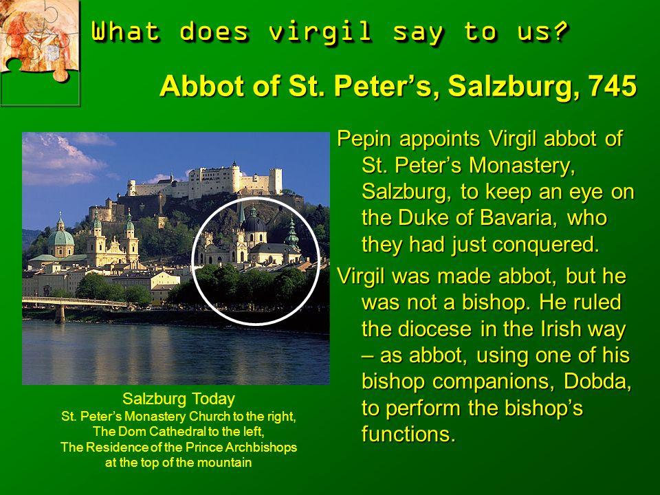 Abbot of St. Peter's, Salzburg, 745