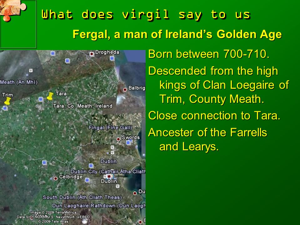 Fergal, a man of Ireland's Golden Age