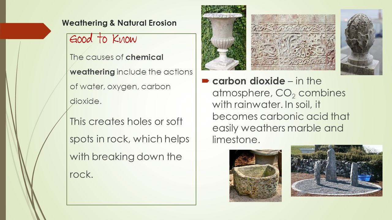 Weathering & Natural Erosion