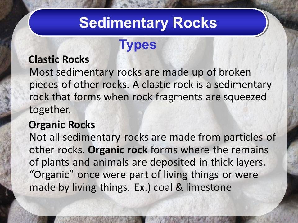 Sedimentary Rocks Types