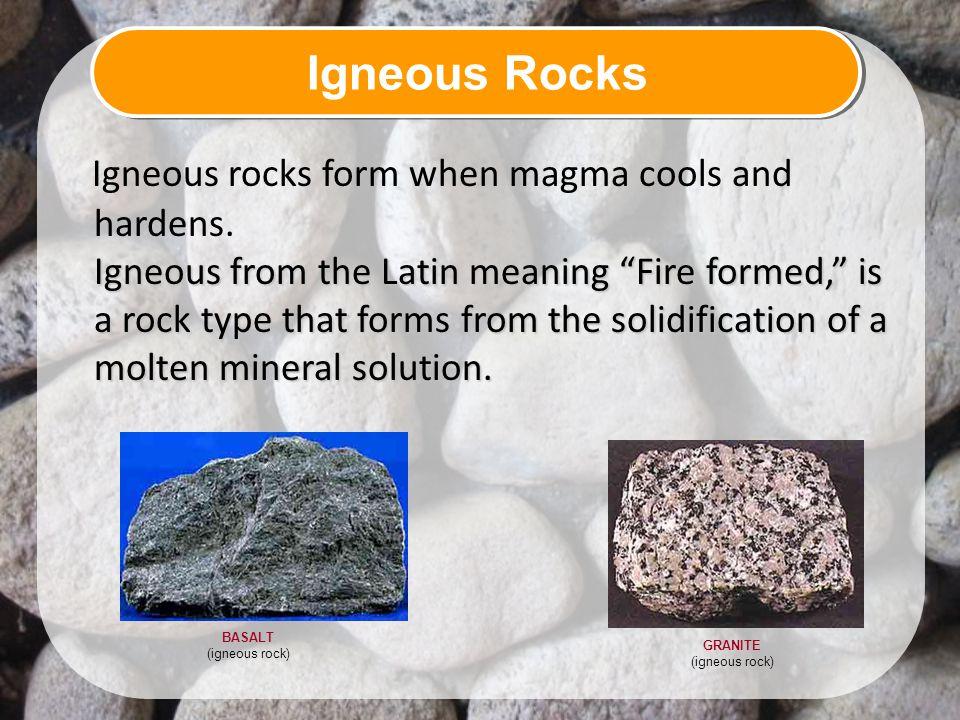 GRANITE (igneous rock)