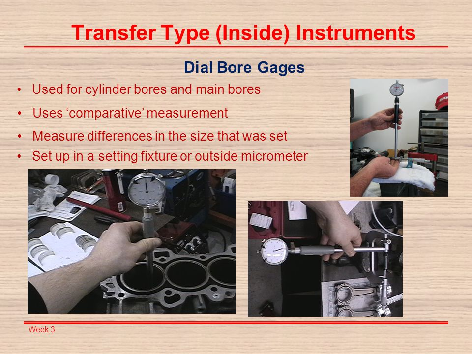 Transfer Type (Inside) Instruments