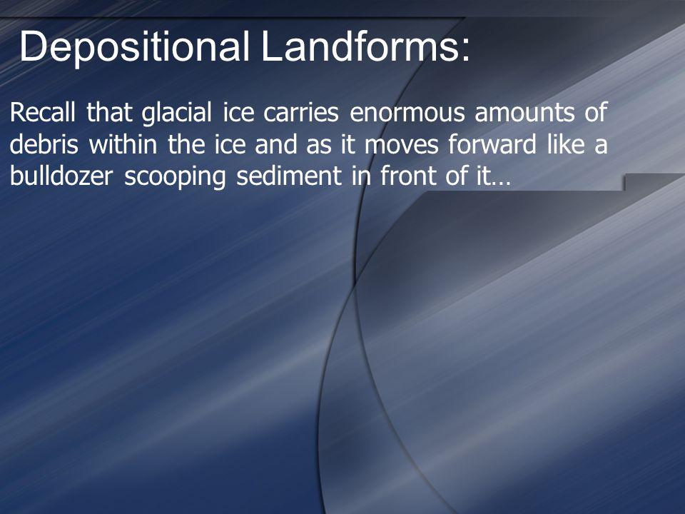 Depositional Landforms: