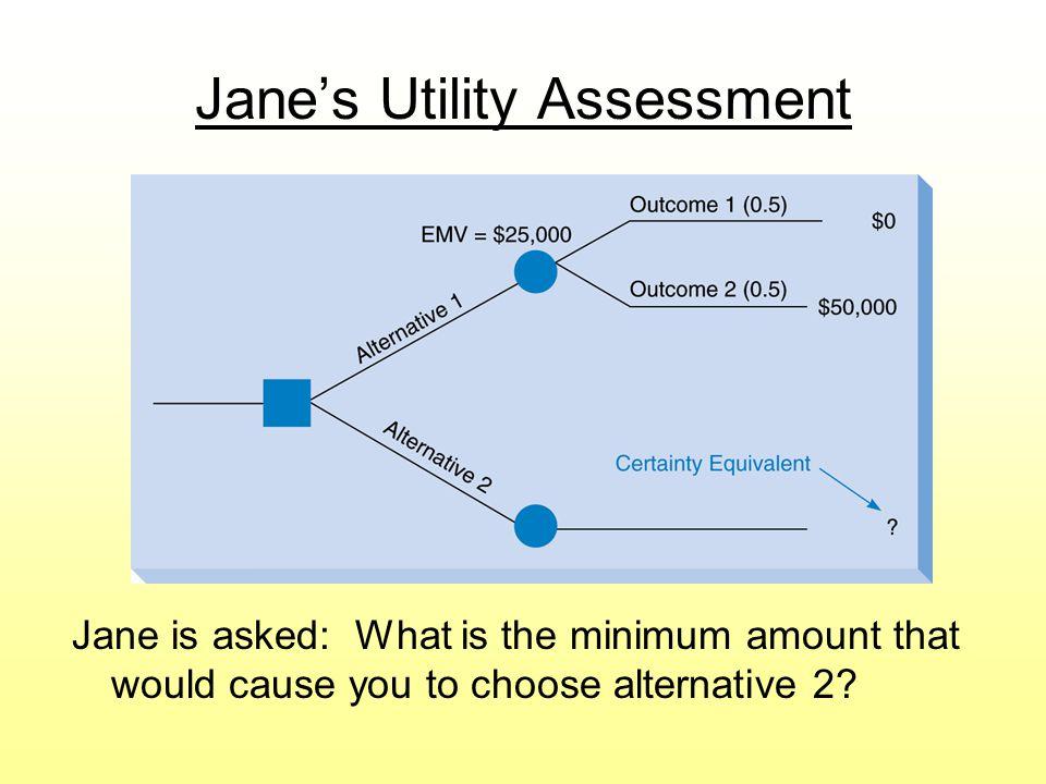 Jane's Utility Assessment