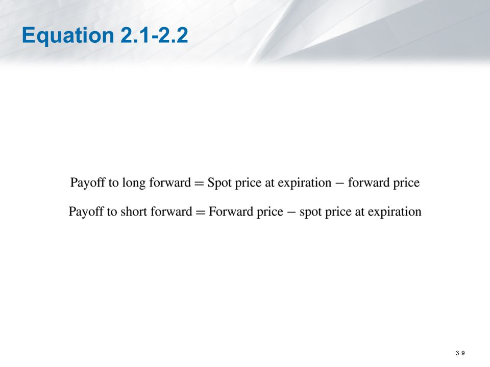 Equation 2.1-2.2