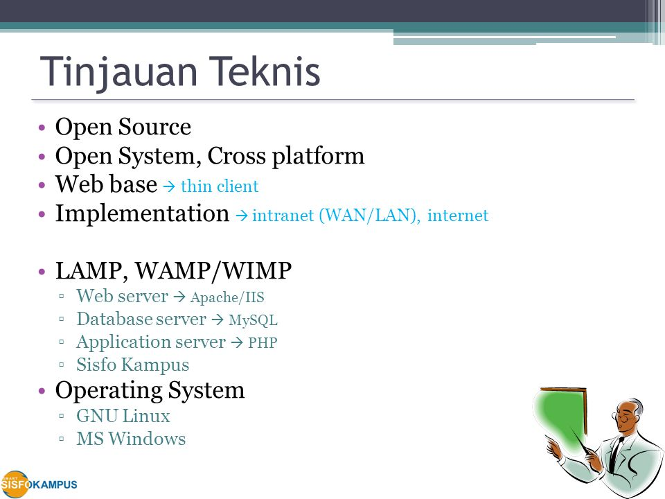 Tinjauan Teknis Open Source Open System, Cross platform