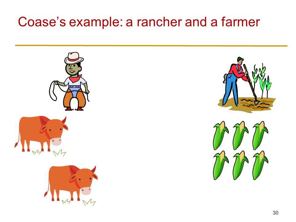 Rancher's versus farmer's rights