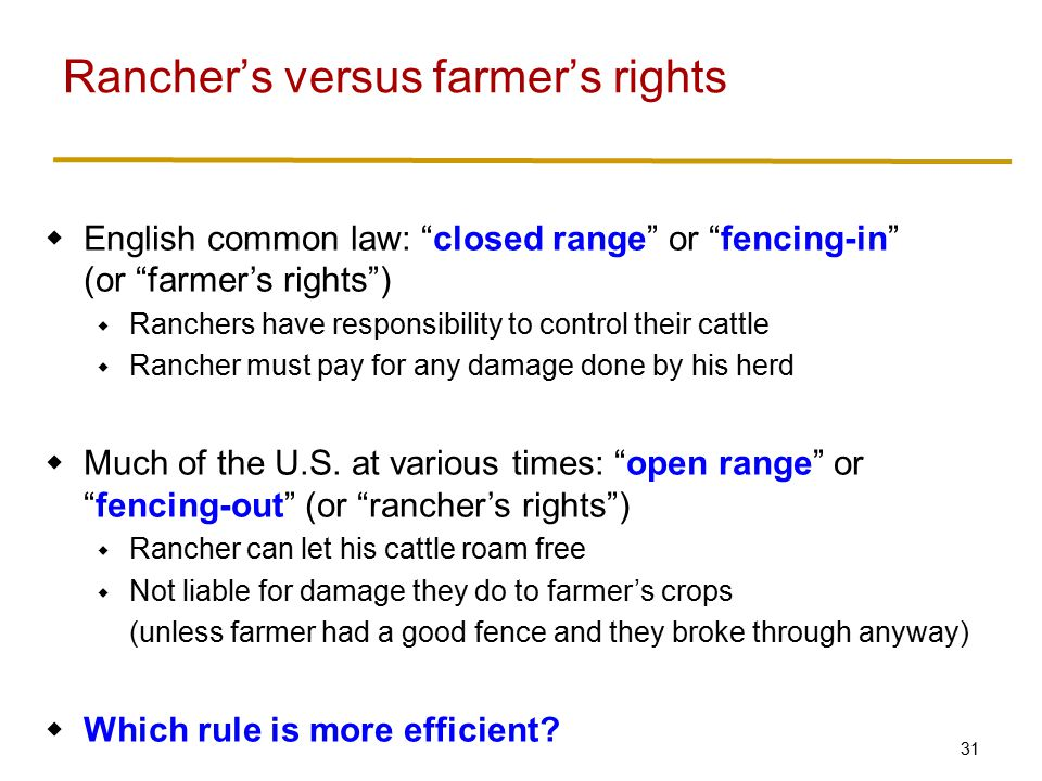 Open range versus closed range